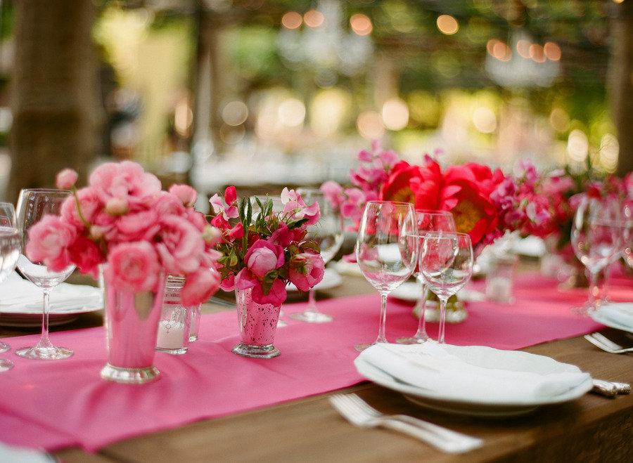 The Wedding Reception Decorations
