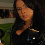 Andrea Rincon, Selena Spice Galeria 5 : Vestido De Latex Negro Foto 55