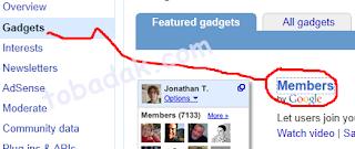 Cara Memasang Gadget Follower (pengikut) dengan Script di Blogger 1