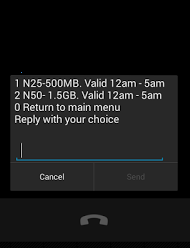 Airtel midnight plan 1.5GB for N50
