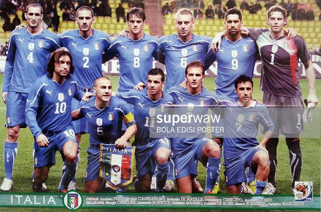 ITALY TEAM SQUAD 2010