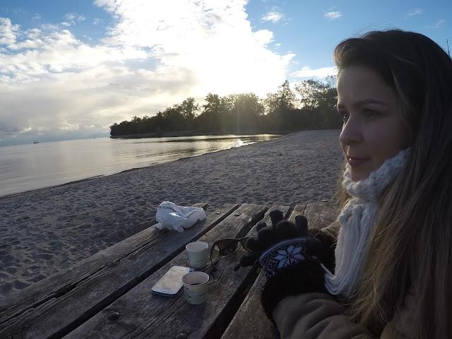 Por do sol na Toronto Islands