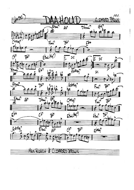 Partitura Violonchelo Clifford Brown