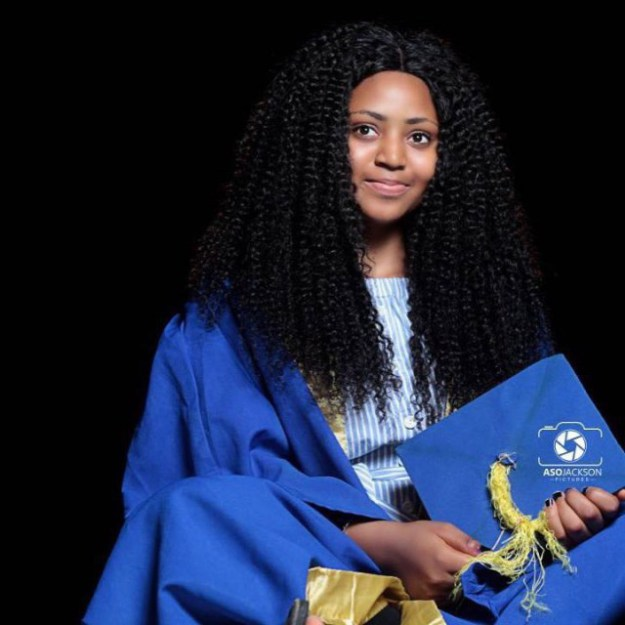 AMAZING: Regina Daniel's Matriculated into Igbinedion University.. (See her photos)