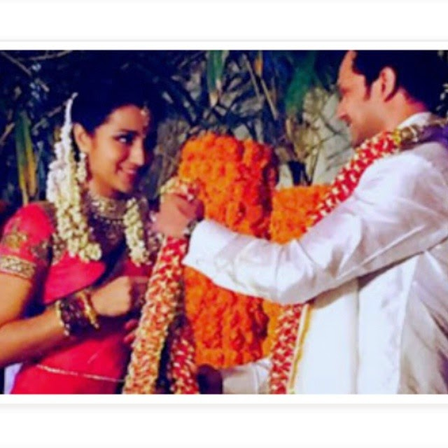 not the clearest of picture but this photo is too cute 😍😍 trisha , engagement ,, Trisha krishnan Varun Manion Engagement Photo Gallery & album