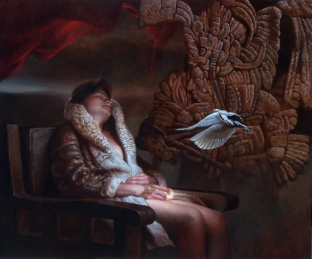 Мексиканский художник-сюрреалист. Ricardo Fernandez Ortega 6