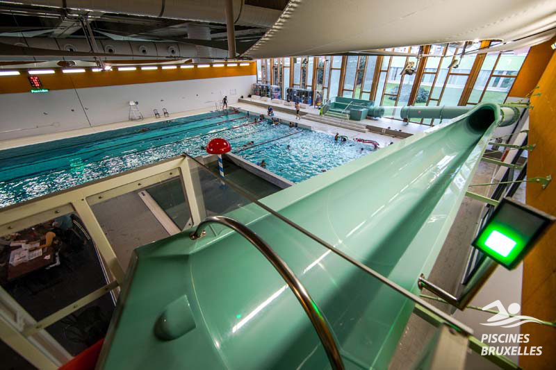piscine laeken toboggan
