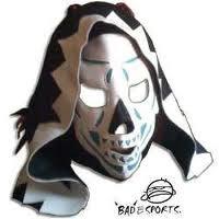 mascara de luchador  la parca