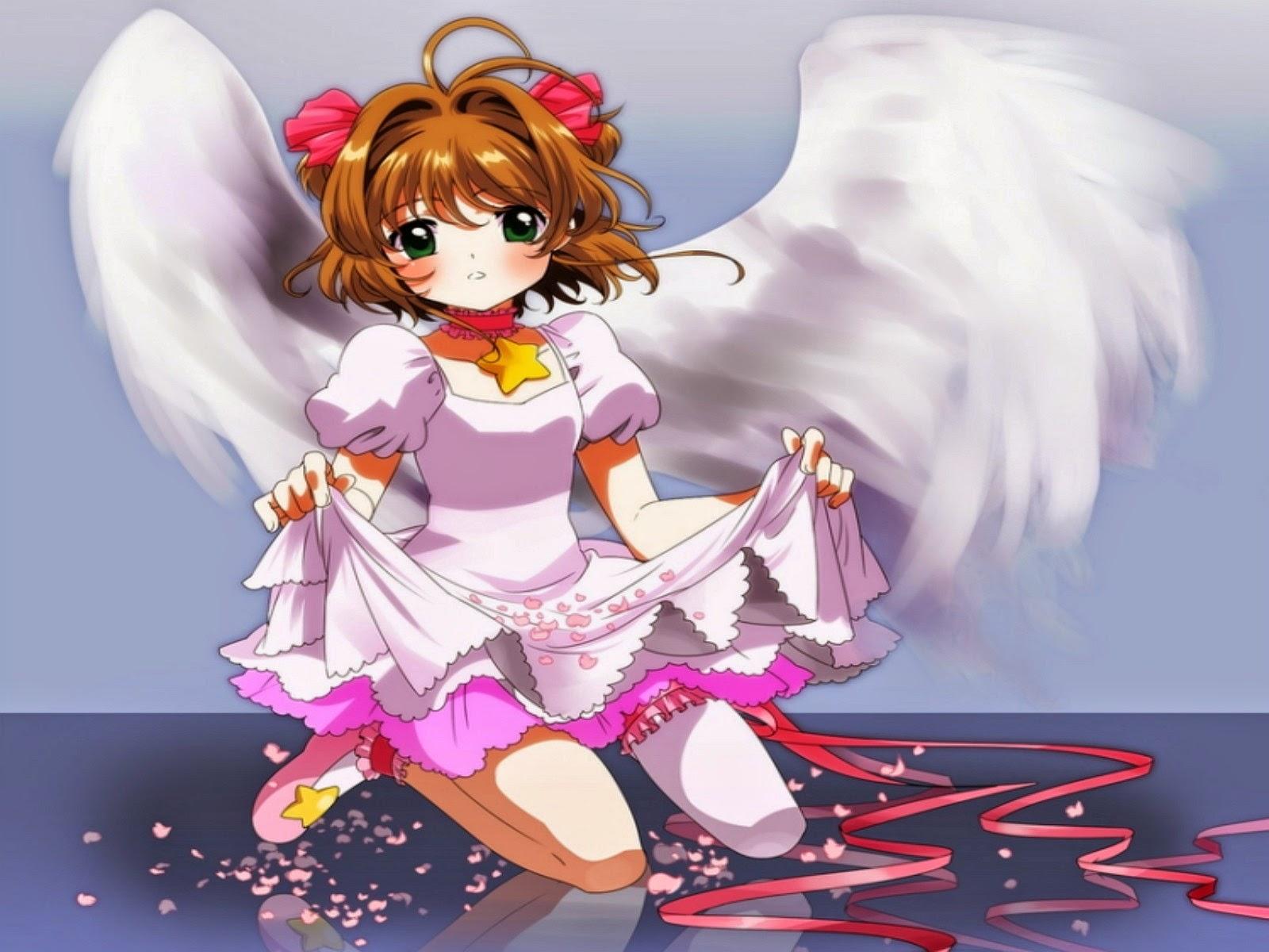 10 wallpaper gadis anime bersayap keren deloiz wallpaper - Foto anime keren hd ...