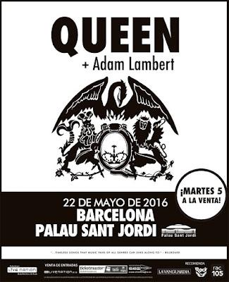 Queen y Adam Lambert darán un único concierto en Barcelona