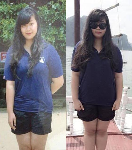 Giảm 28kg trong 3 tháng cô gái 9x lột xác với thân hình nhỏ nhắn xinh xắn - Ảnh 1