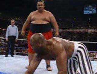 WWF (WWE) SURVIVOR SERIES 1992 - YOKOZUNA BATTLES VIRGIL
