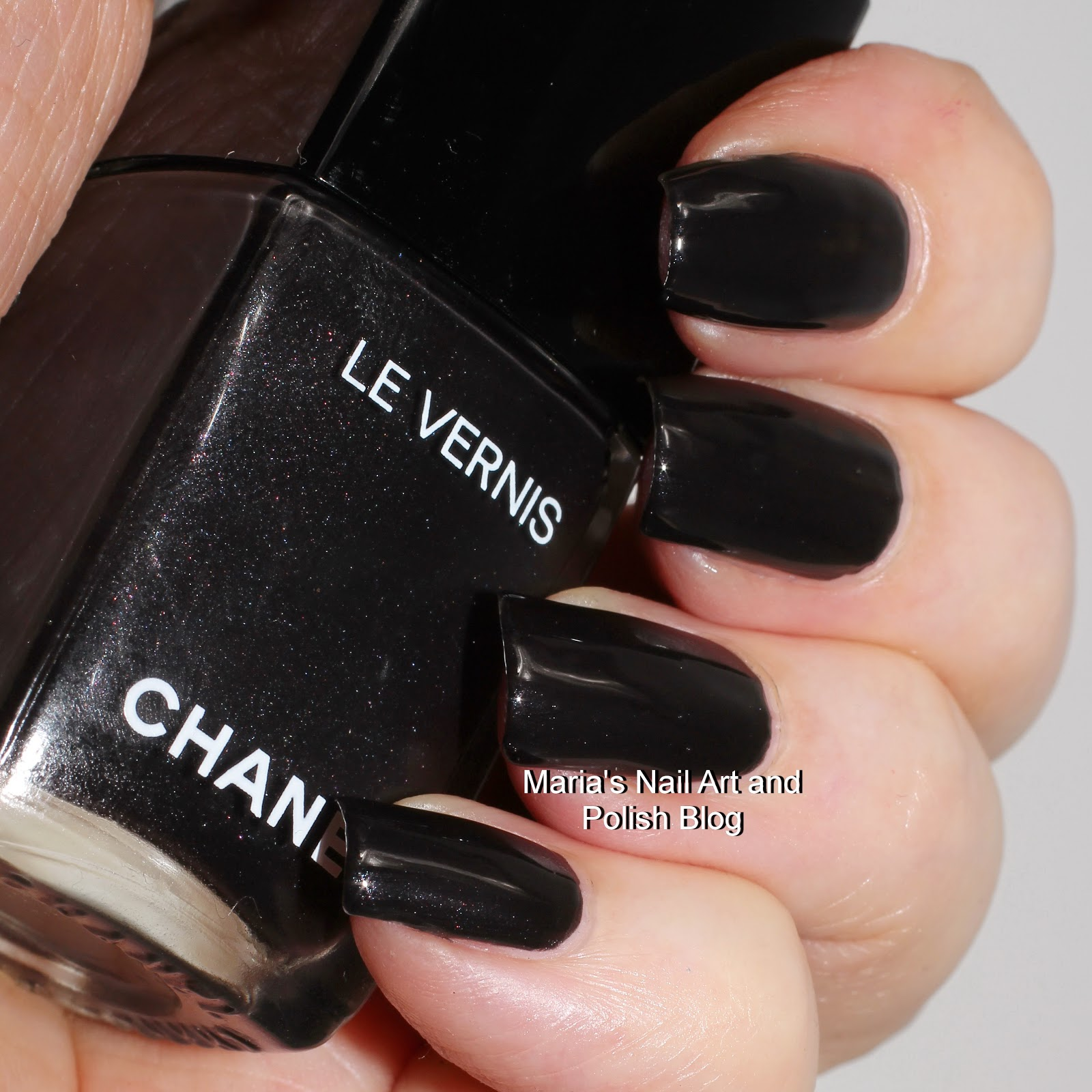 Marias Nail Art And Polish Blog: Chanel Gris Obscur 538