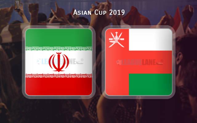 فيديو :  إيران تقتل احلام عمان وتفوز بهدفين  فى دور 16 كأس الأمم الآسيوية