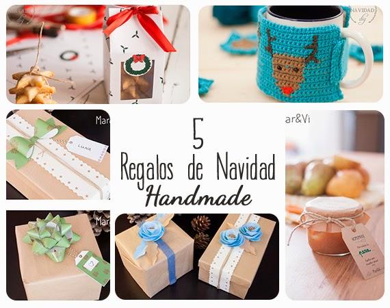 Regalos de Navidad handmade