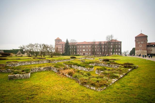 Punto informazioni-Castello del Wawel-Cracovia