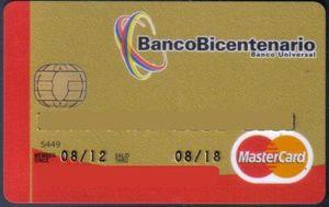 Recaudos y planilla para solicitud T.C BANCO BICENTENARIO