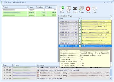 SEO Software Quickbacklinks V0.2.2b