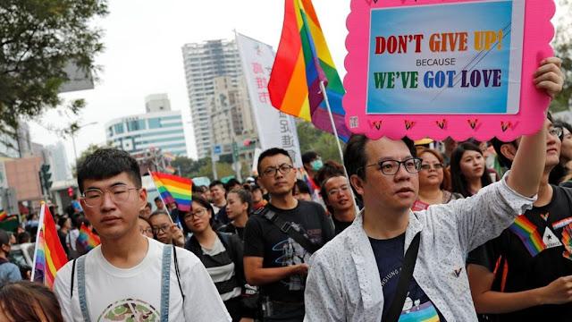 Pemilih di Taiwan Menolak Legalisasi Perkawinan Sesama Jenis