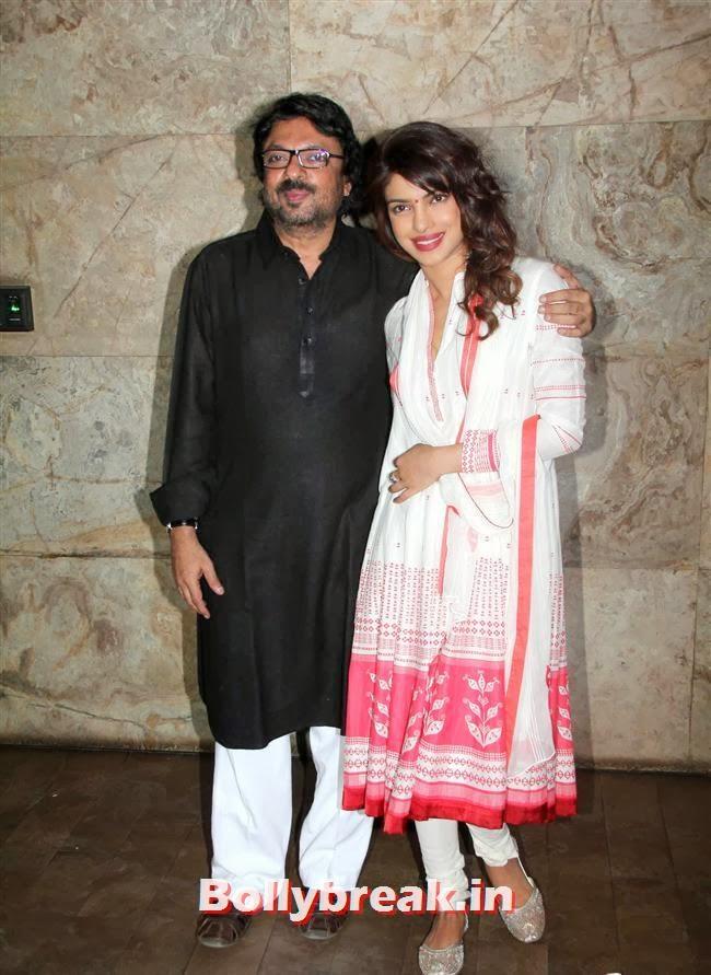 Sanjay Leela Bhansali and Priyanka Chopra, Ram Leela Premiere Photos