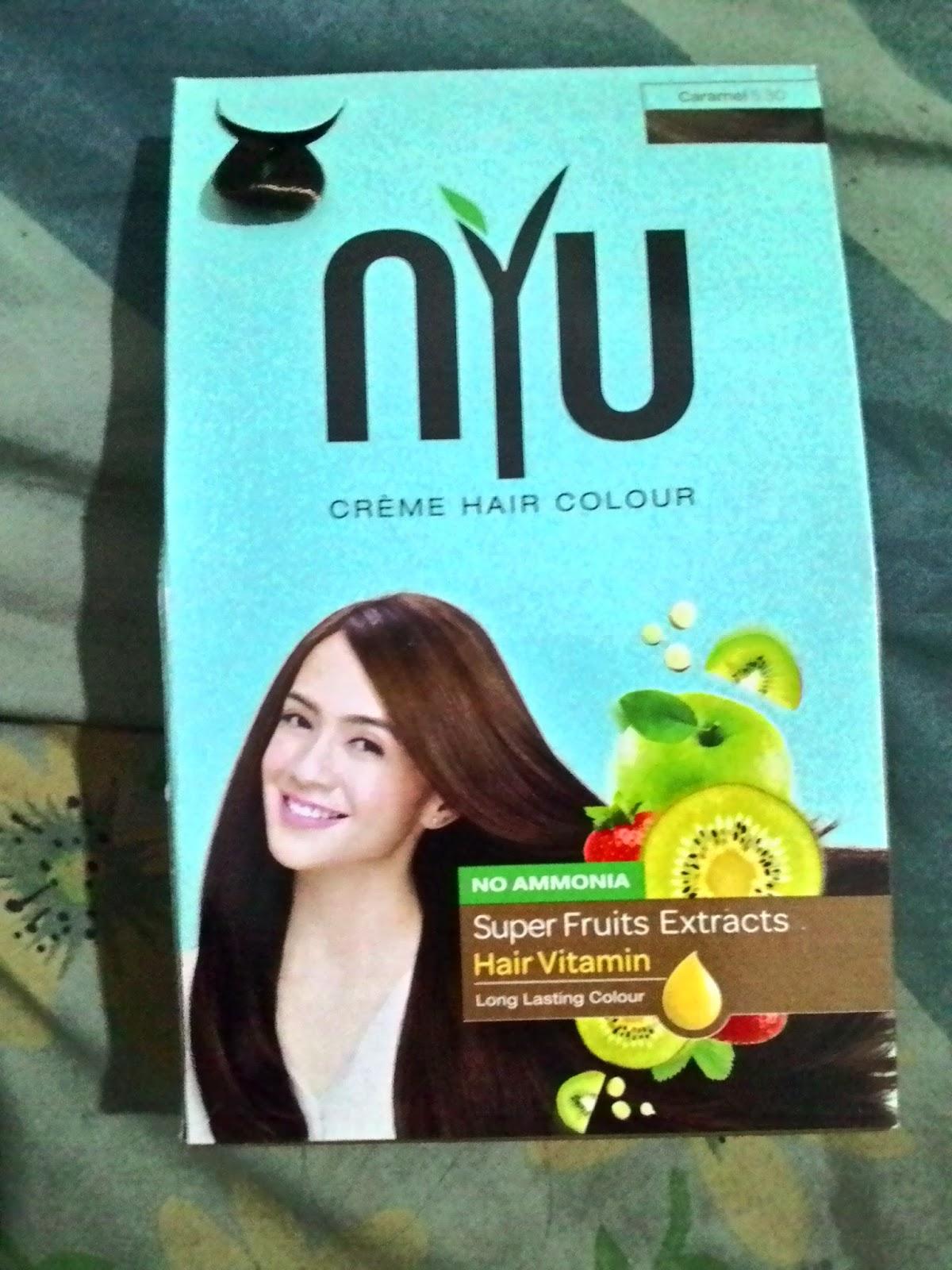 Review NYU Hair Colour Creme Caramel Brown 530 Sho Yumi Blog