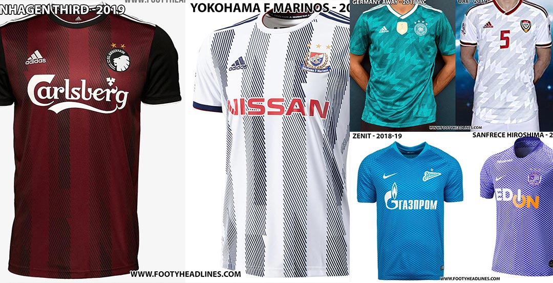 2ae1830a0 Insane  Adidas   Nike Recycle Kit Designs For Different Teams ...