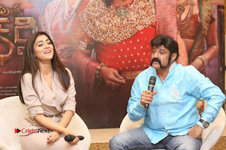 Shriya Saran Nandamuri Balakrishna at Gautamiputra Satakarni Team Press Meet Stills  0178.JPG