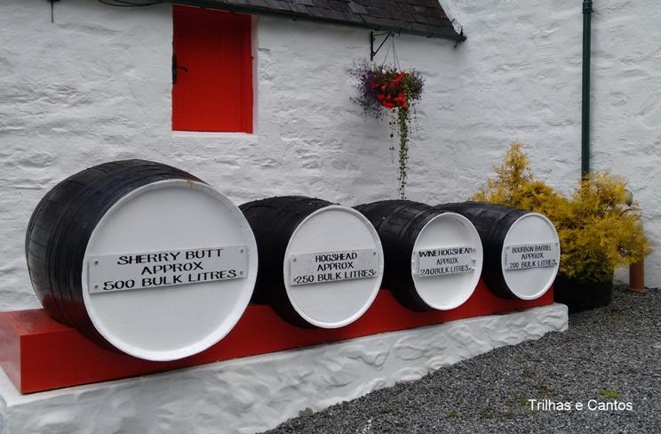 Menor destilaria Escócia