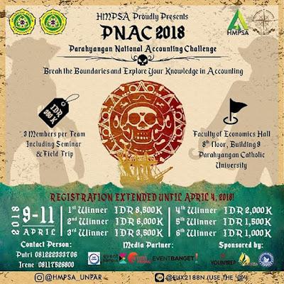 Parahyangan National Accounting Challenge (PNAC) 2018 UNPAR