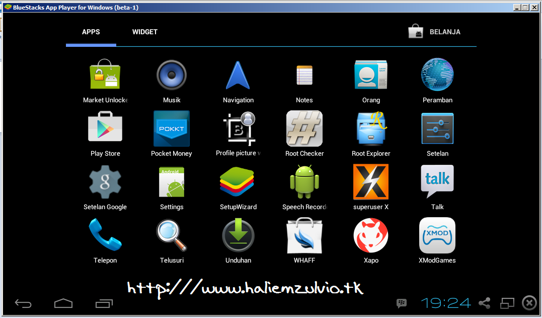 Bluestacks Rooted Android Untuk PC