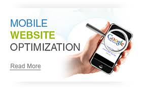 mobile optimized website