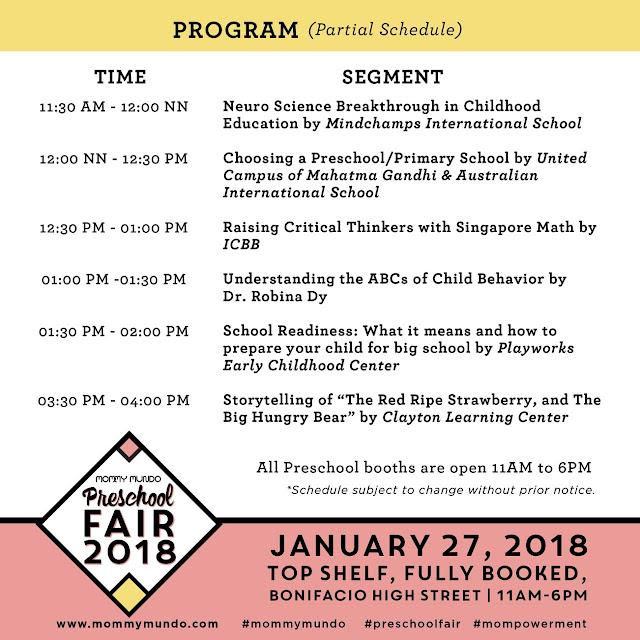 Preschool Fair 2018