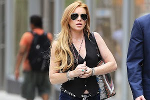 Lindsay Lohan: a new life - new shoes