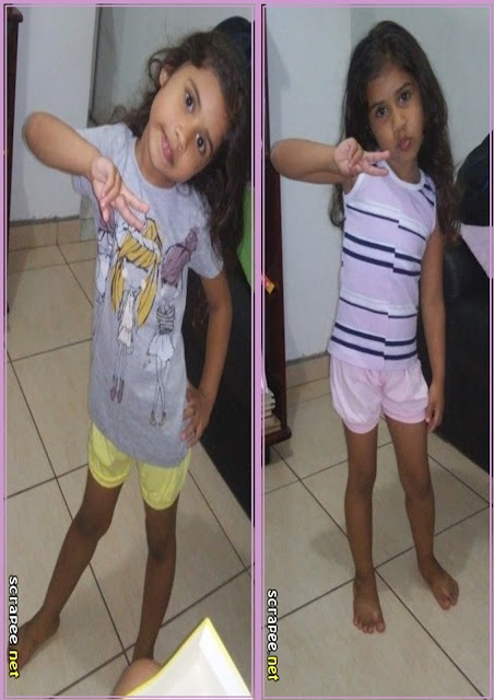 Look do dia, regata, camisa e short infantil
