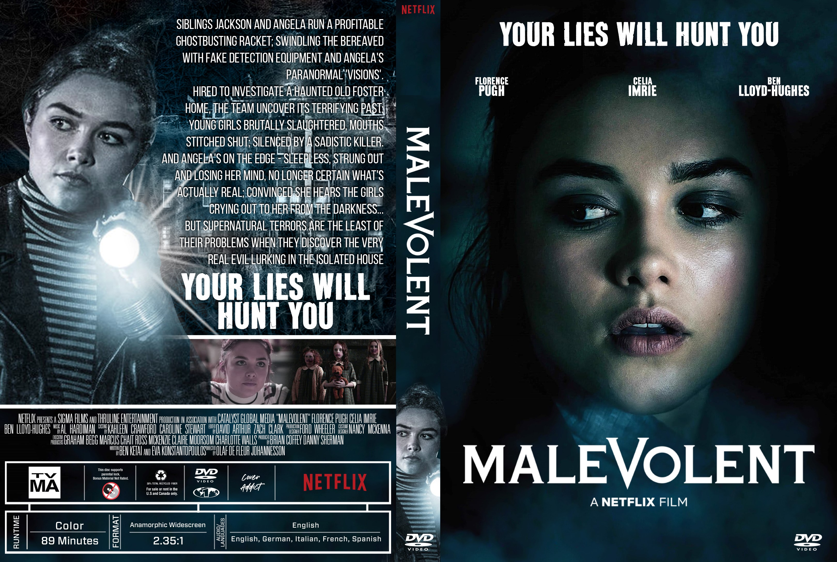 Malevolent Dvd Cover Cover Addict Dvd Bluray Covers
