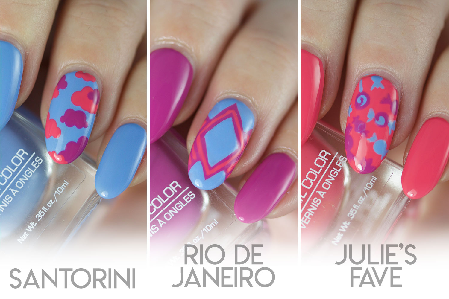 The Daily Nail, Jesse's Girl, Julie G, Spring Trio