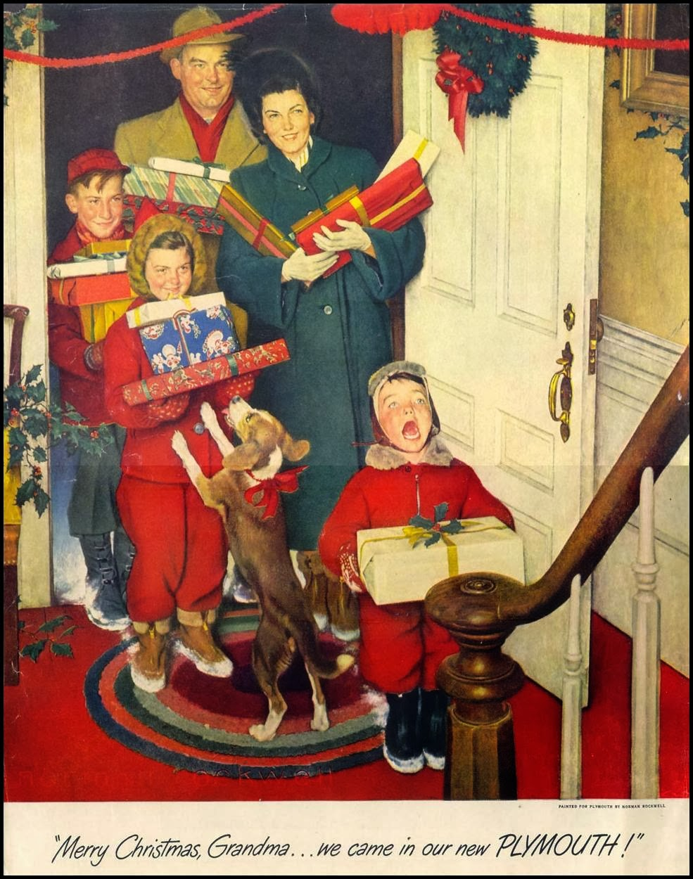 Just One More Thing: The Death of Norman Rockwell . . .