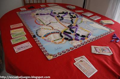 review de juego de mesa aventureros al tren: países nórdicos de days of wonder en escuela de juegos