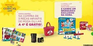 Promoção Pernambucanas Dia das Crianças 2018 Compre Ganhe Brinquedo