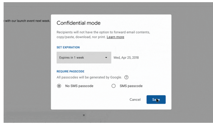 confidential-mode