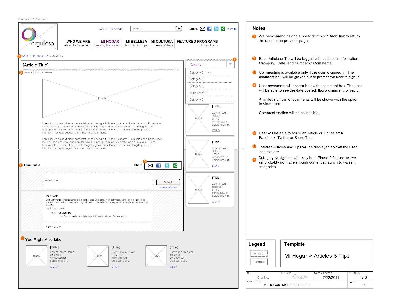 Juli Luebbe / User Experience Consultant: Interaction