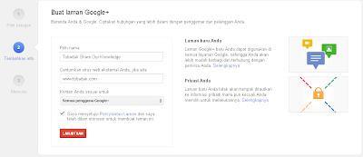 Cara Membuat Halaman Penggemar ( fans page) Google Plus 2