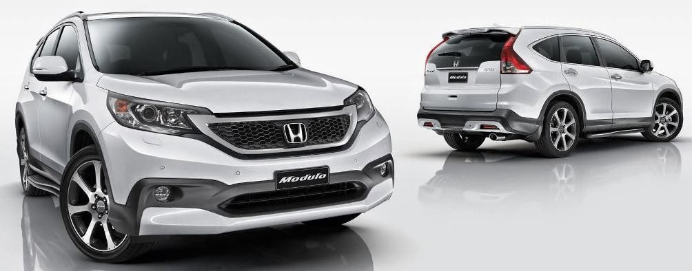 Aksesoris Honda All New CRV - Body Kit Modulo