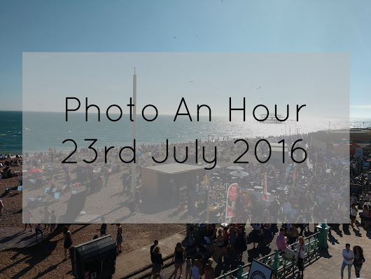 Sea, Trains and Ridiculous Chocolate: July's Photo An Hour