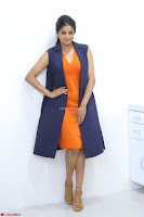 Priyamani in Beautiful Short Deep neck Orange Dress ~  Exclusive 10.JPG