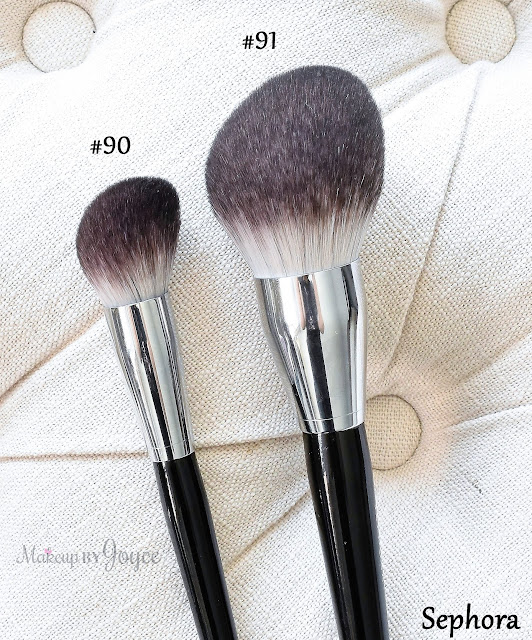 Sephora Collection Pro Featherweight Brush Review 91 Powder Body 90 Foundation Complexion