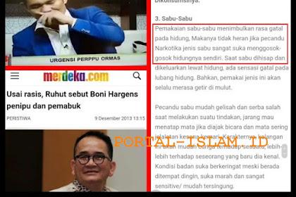 Boni Hargens Bantah Sakau Saat LIVE di TvOne, Netizen Tantang Tes Urine