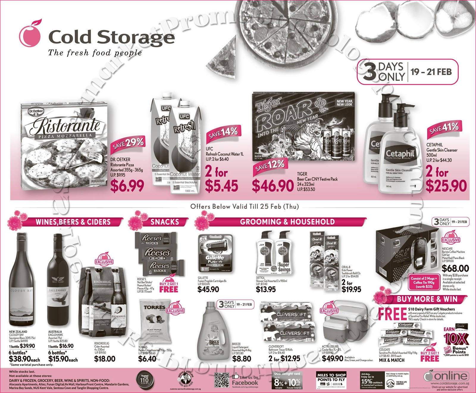 Cold storage weekly promotion 19 25 february 2016 supermarket