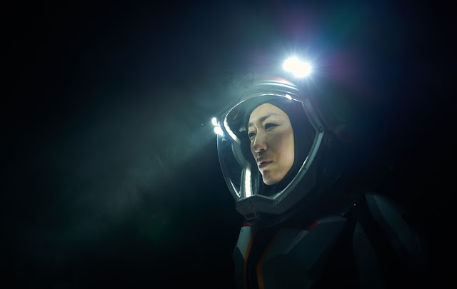 National Geographic 'Mars' - astronaut in dark