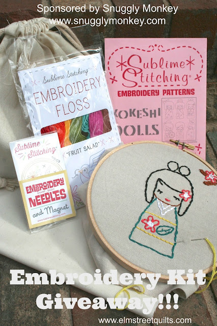 Embroidery Kit Giveaway